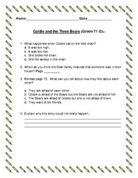 Leveled Literacy Intervention Green System 71-80
