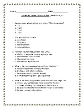 Leveled Literacy Intervention Red System Lessons 51-60