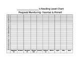 Fountas & Pinnell Progress Monitoring