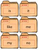 Fountas/Pinnell Sight Word Flash Cards~ Kindergarten Case Files