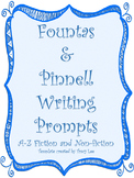 Fountas & Pinnell Writing Prompts