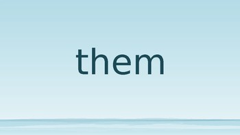 Fountas and Pinnel Blue Kit Lesson 3 The Sea Sight Words