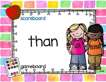 Sight Word Interactive Games: Fountas and Pinnell 100 HFW list