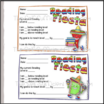 Fountas and Pinnell Fiesta Goals/Results Benchmarking Certificates