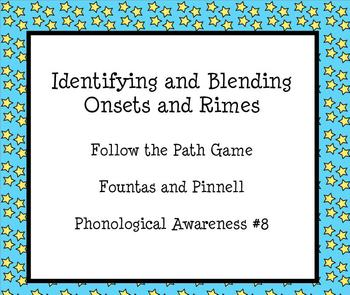 Fountas and Pinnell Follow the Path Game Beginning Sounds (2005 edition)