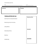 Fountas and Pinnell Guided Reading Lesson Plan