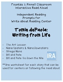 Fountas and Pinnell: IRA Write About Reading: Tomie DePaola