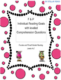 Fountas and Pinnell Individual Reading Goals and Questions