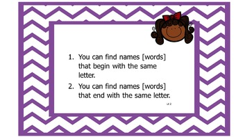 Fountas and Pinnell Inspired Phonics Lessons Anchor Charts- 1st Grade