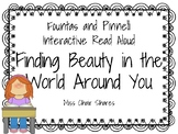 Fountas and Pinnell Interactive Read Aloud: Finding Beauty