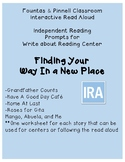 Fountas and Pinnell Interactive Read Aloud: Finding Your W