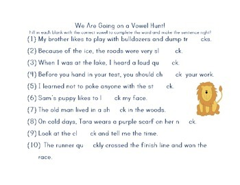 Fountas and Pinnell LLI Blue Lessons 61-70 Supplementary Materials