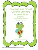 Fountas and Pinnell LLI Green Kit Supplementary Materials