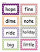 Fountas and Pinnell Phonics Word Wall 2