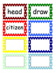 Fountas and Pinnell Phonics Word Wall 8