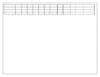 Fountas and Pinnell Recording Sheet