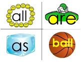 Fountas and Pinnell 25, 50, and 100 Sight Word Bundle