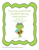 Fountas and Pinnell Supplementary Materials Lessons 31-40