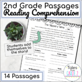 2nd Grade Reading Passages with Comprehension Questions (14 passages)
