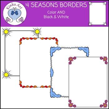 Four {4} Seasons Borders