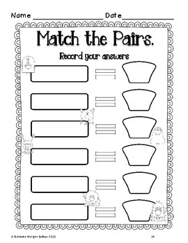 Four Addition Math Centers {Monster Math} Common Core Aligned CCSS 1.OA.5