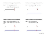Four Basic Constructions - Instructional Diagrams