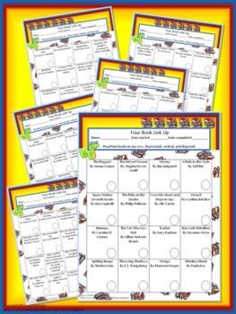 Four Book BINGO (6th grade)- Reading Activity