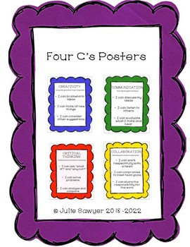 Four C's Posters