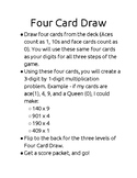 Four Card Draw