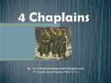 Four Chaplains Power Point (3rd grade Social Studies TEKS 3.11A)
