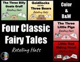 Four Classic Fairy Tales - Retelling Character Hats - Bundle