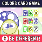 Colors Card Game Clipart
