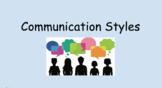 Four Communication Styles-Advisory Lesson or Life Skills Lesson
