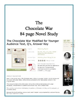 Four Complete Novel Studies: Outsiders, Great Gatsby, Night, Chocolate War