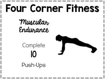 Four Corner Fitness Cards