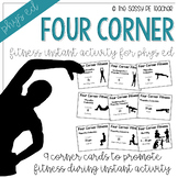 Four Corner Fitness Cards