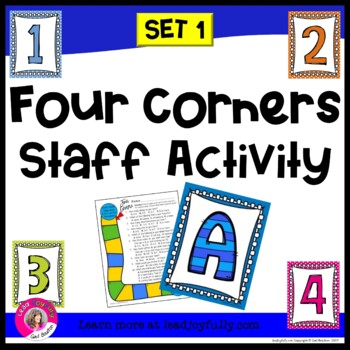 Four Corners Staff Activity