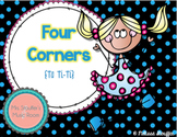 Four Corners - A Rhythm Assessment Game {Ta TiTi}