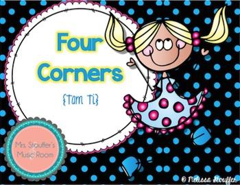 Four Corners - A Rhythm Assessment Game {Tam Ti}