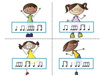 Four Corners - A Rhythm Assessment Game {Tim-Ka}