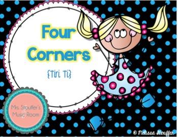 Four Corners - A Rhythm Assessment Game {Tiri Ti}