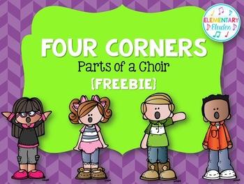 Four Corners FREEBIE - Voice Parts