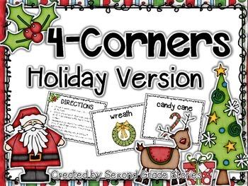 Christmas Four Corners Game