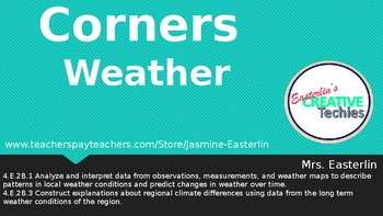 Four Corners Game (Weather Unit)