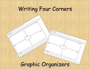 Four Corners Graphic Organizers