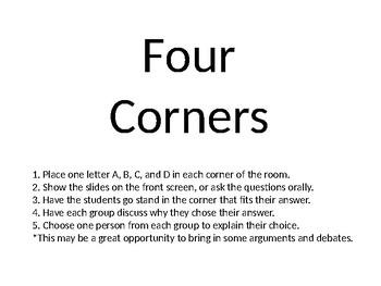 Four Corners Ice Breaker