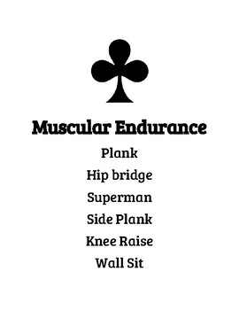 Four Corners Instant Activity, Warm Up, Components of Fitness