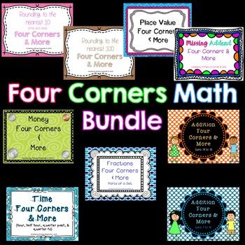 Four Corners Math Bundle