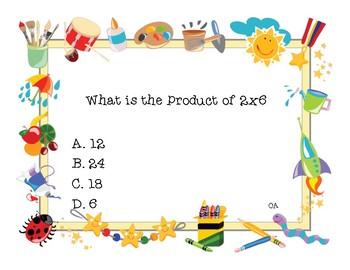 Four Corners (Multiplication)