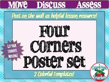 Four Corners: Printable Poster Variety Pack